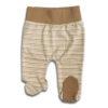 Baby Strampelhose mit Fuß aus Pima Baumwolle