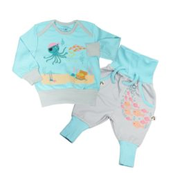 Baby und Kinder Pyjama Pirat_Pima Biobaumwolle (1)