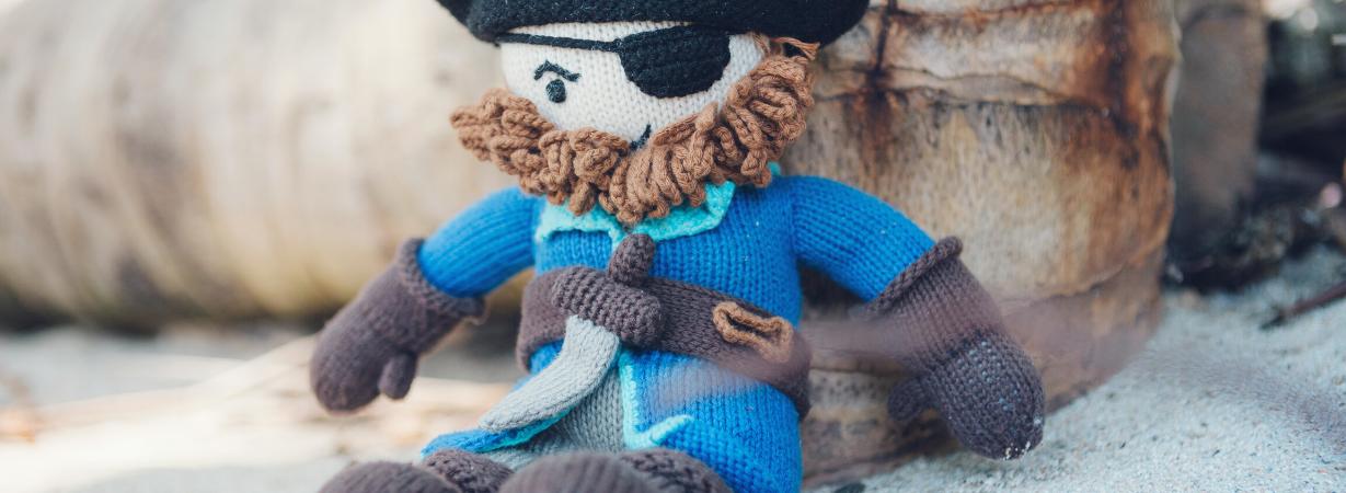 Chill n Feel - Langsam trocken werden_Puppe für Jungs Pirat