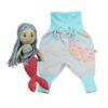 Chill n Feel - Puppe Meerjungfrau u. Mitwachshose für Mädchen_Geschenk für 3 Jährige