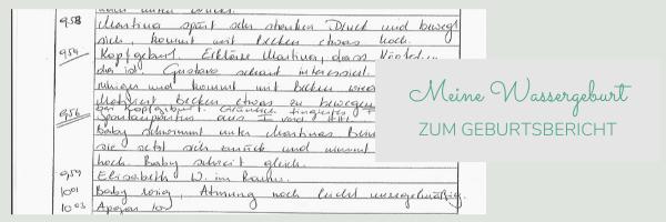 Chill n Feel - Wassergeburt Erfahrungsbericht_Geburtshaus Rosenheim
