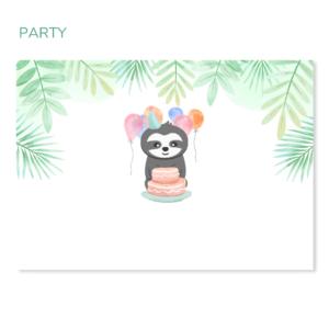 Faultier Geschenkbox Party_Geburtstag