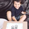 Geschenkverpackung Faultier Box