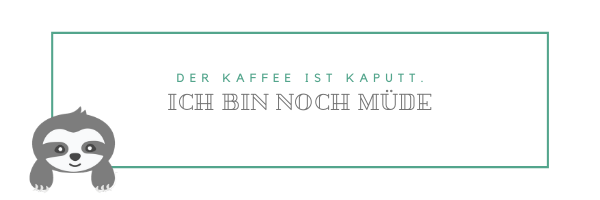 Handlettering Schriftzüge_Faultier_Chill n Feel