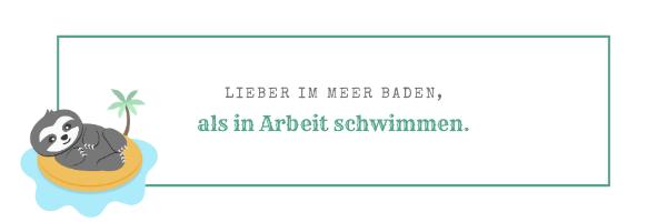 Handlettering Sprüche und Verse_Faultier_Chill n Feel