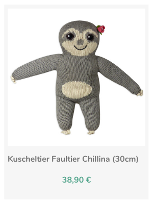 Kuscheltier_Faultier_Affe_Chill n Feel (1)