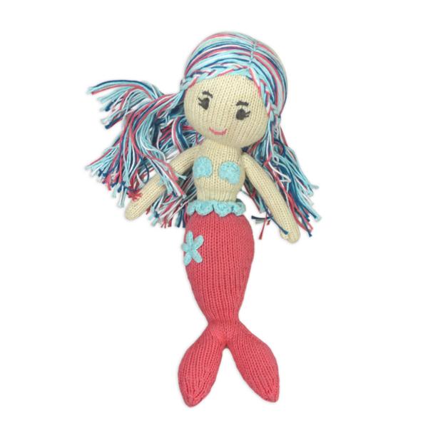 Chill n Feel - Meerjungfrau Puppe Stoff_Stoffpuppe_Arielle