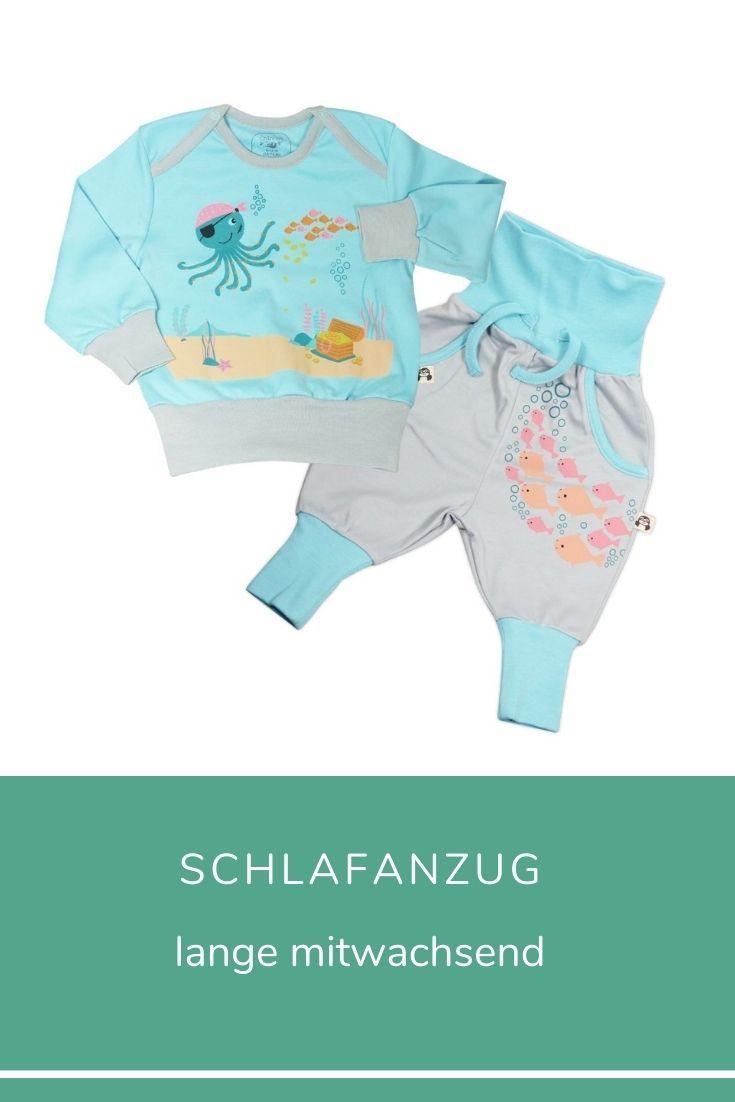 Pima Schlafanzug für frühgeborene Jungs