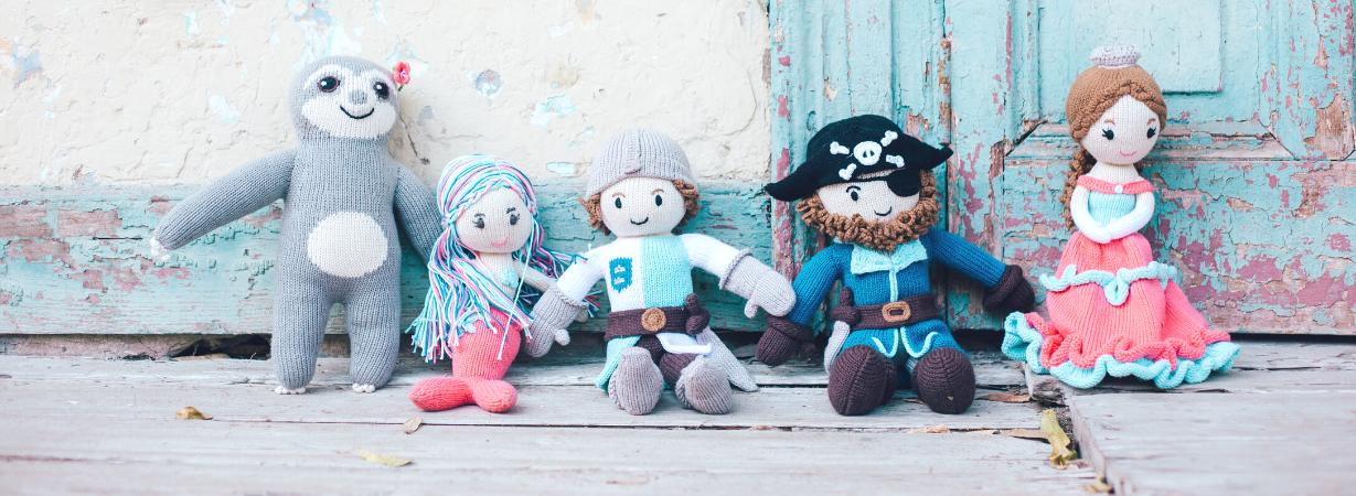 Chill n Feel - Gesundes Kinderspielzeug_Öko Puppen