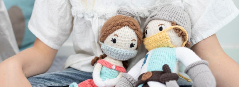 Chill n Feel - Mundschutz für Puppen_Stoffpuppen