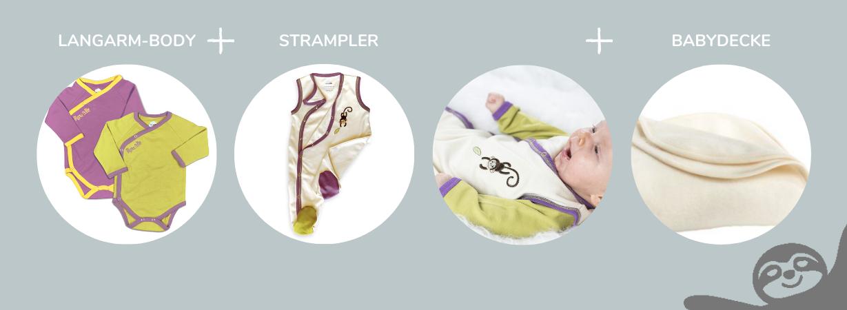 Chill n Feel - Erstlingskleidung für Neugeborene im Sommer