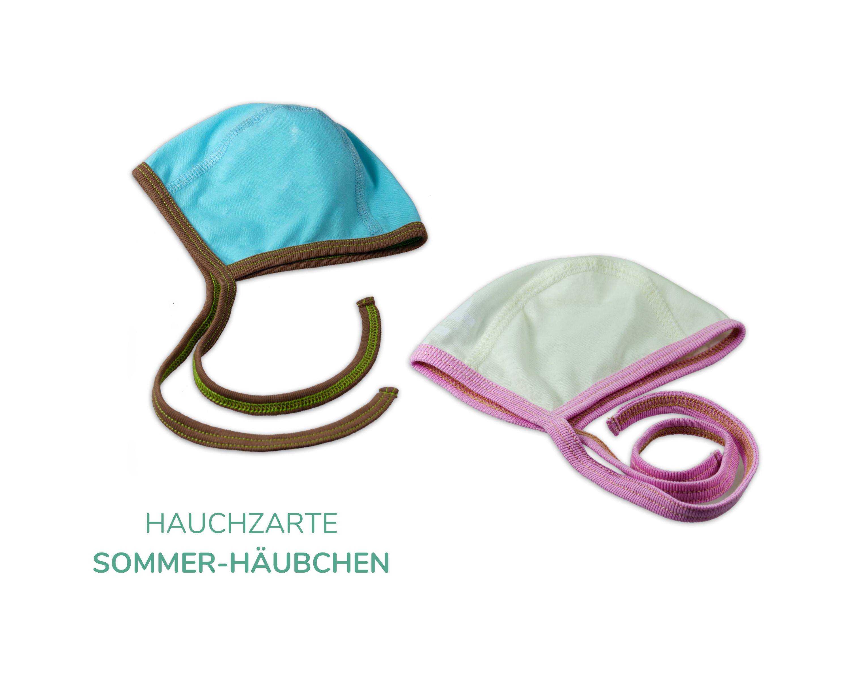 Häubchen für Neugeborene_Sommerbaby
