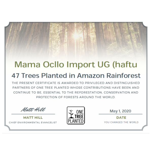 Bäume pflanzen im Amazonas: 1 Faultier Magnet = 1 Baum