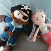 Geschenk für Bruder und Schwester_Pirat_Meerjungfrau