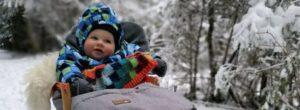 Winterbaby richtig anziehen