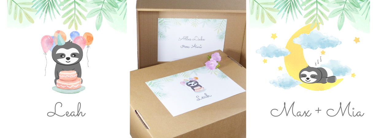 Geschenkservice_Geschenkbox_Faultier
