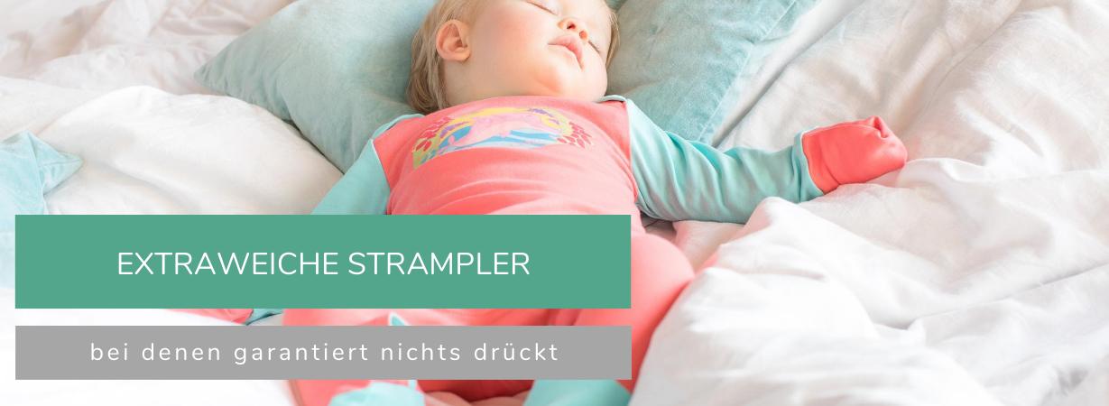 Weiche Baby Strampler ohne Druckstellen