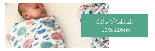 Bio Pucktuch für neugeborenes Baby