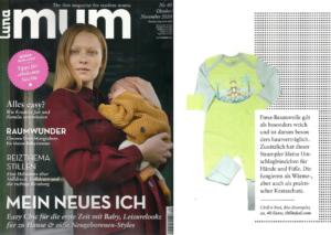 Chill n Feel mit Neurodermitis freundlicher Babykleidung in Luna Mum