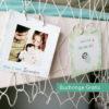 Baby Meilensteinkarten Faultier mit gratis Buchringen