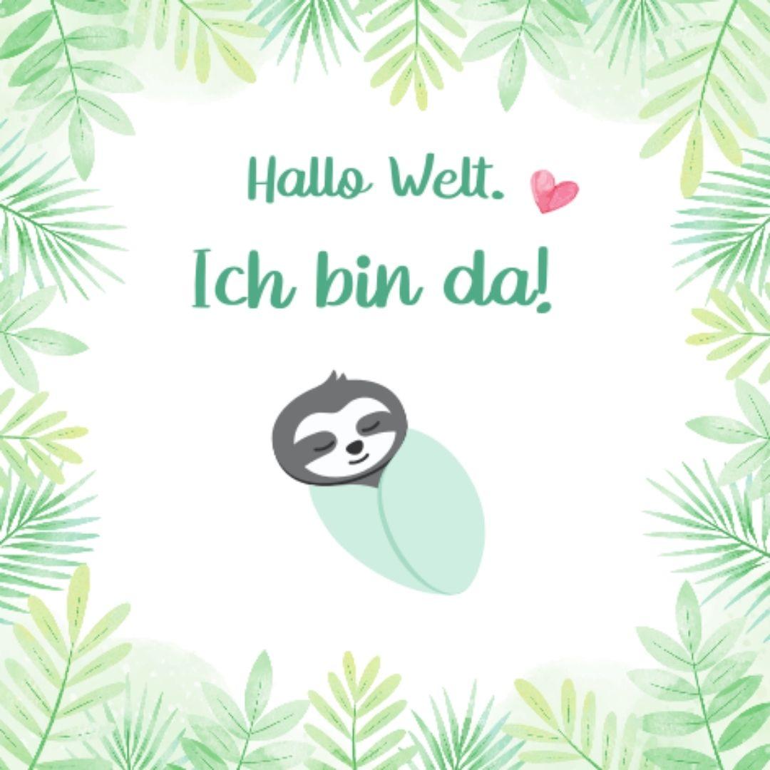 Baby Meilensteinkarten im Babyalbum (1)