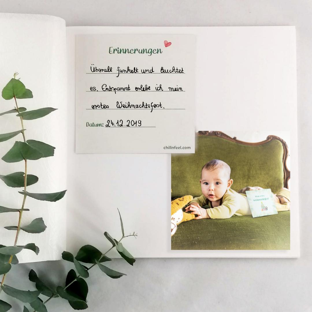 5 kreative Ideen mit Baby Meilensteinkarten