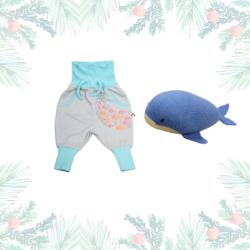 Weihnachtsgeschenk für Babys_Wal_Fische