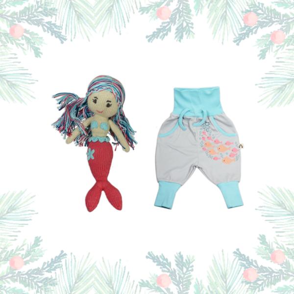 Weihnachtsgeschenk für Mädchen: Meerjungfrau