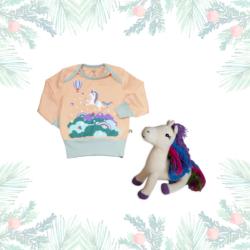 Magisches Einhorn Geschenk für Mädchen zu Weihnachten