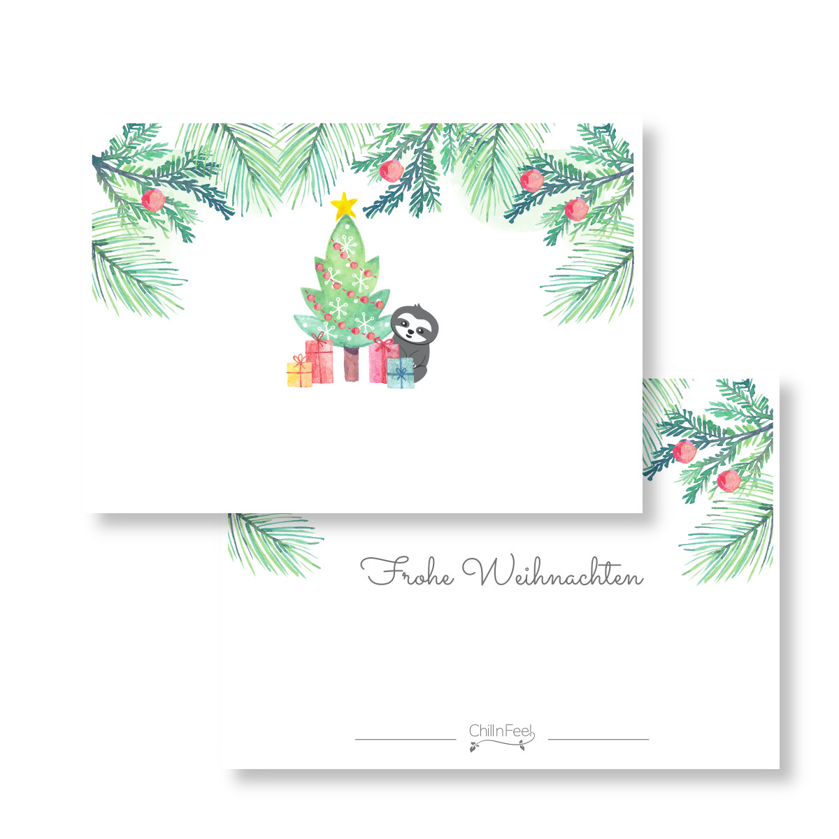 Weihnachtsgeschenk verpacken