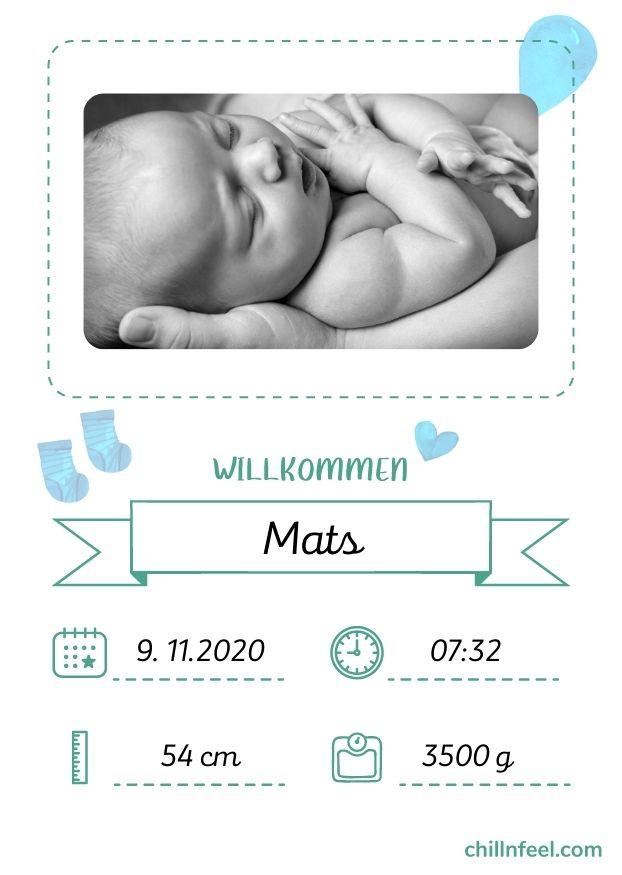 Virtuelle Baby Shower Party_Spiel Babykarten