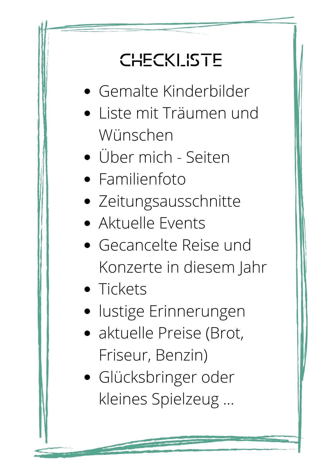 "Familienspiel ""Die Zeitkapsel"""