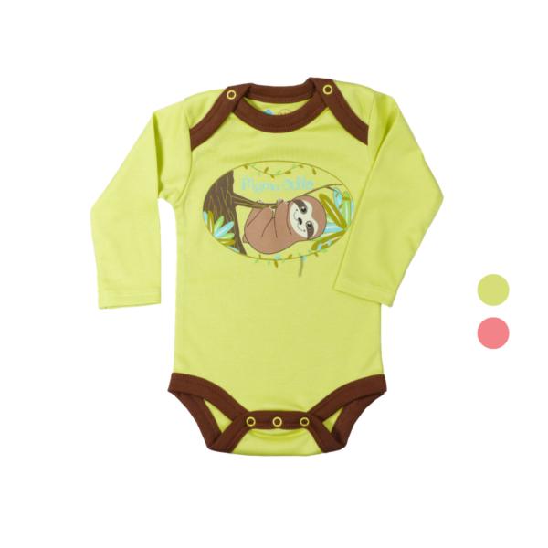 Bio Body für Neugeborene aus Pima Baumwolle (2)