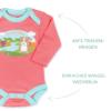 Bio Body für Neugeborene aus Pima Baumwolle (3)