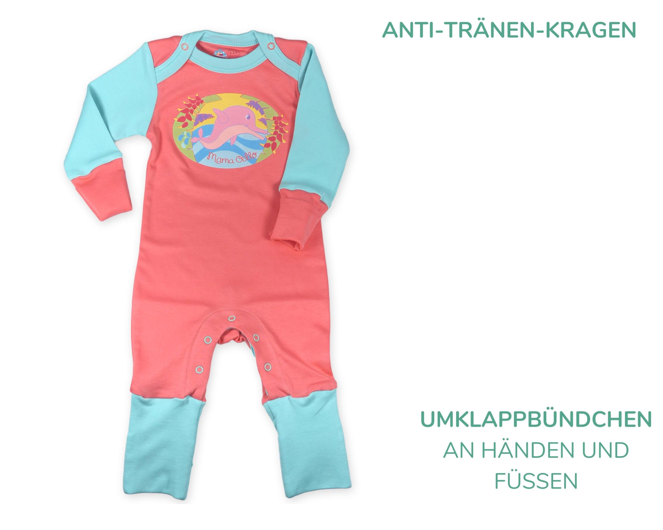 Neugeborenes im Sommer: lange Kleidung bei 30 °C?