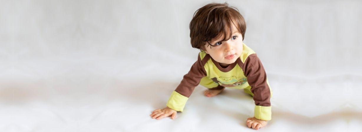 Bio Babymode mit Faultier Motiven_Pima Baumwolle
