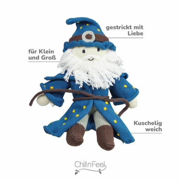 Zauberer Puppe Biobaumwolle (2)