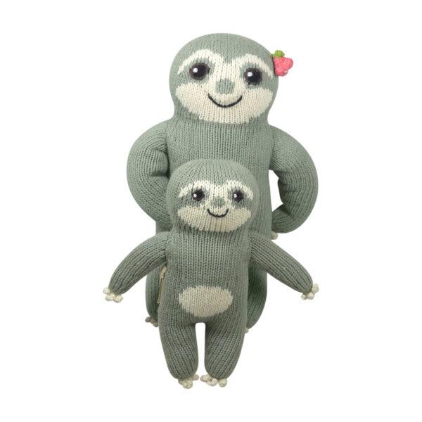 Babyparty Geschenk_Faultier Mama und Baby (1)