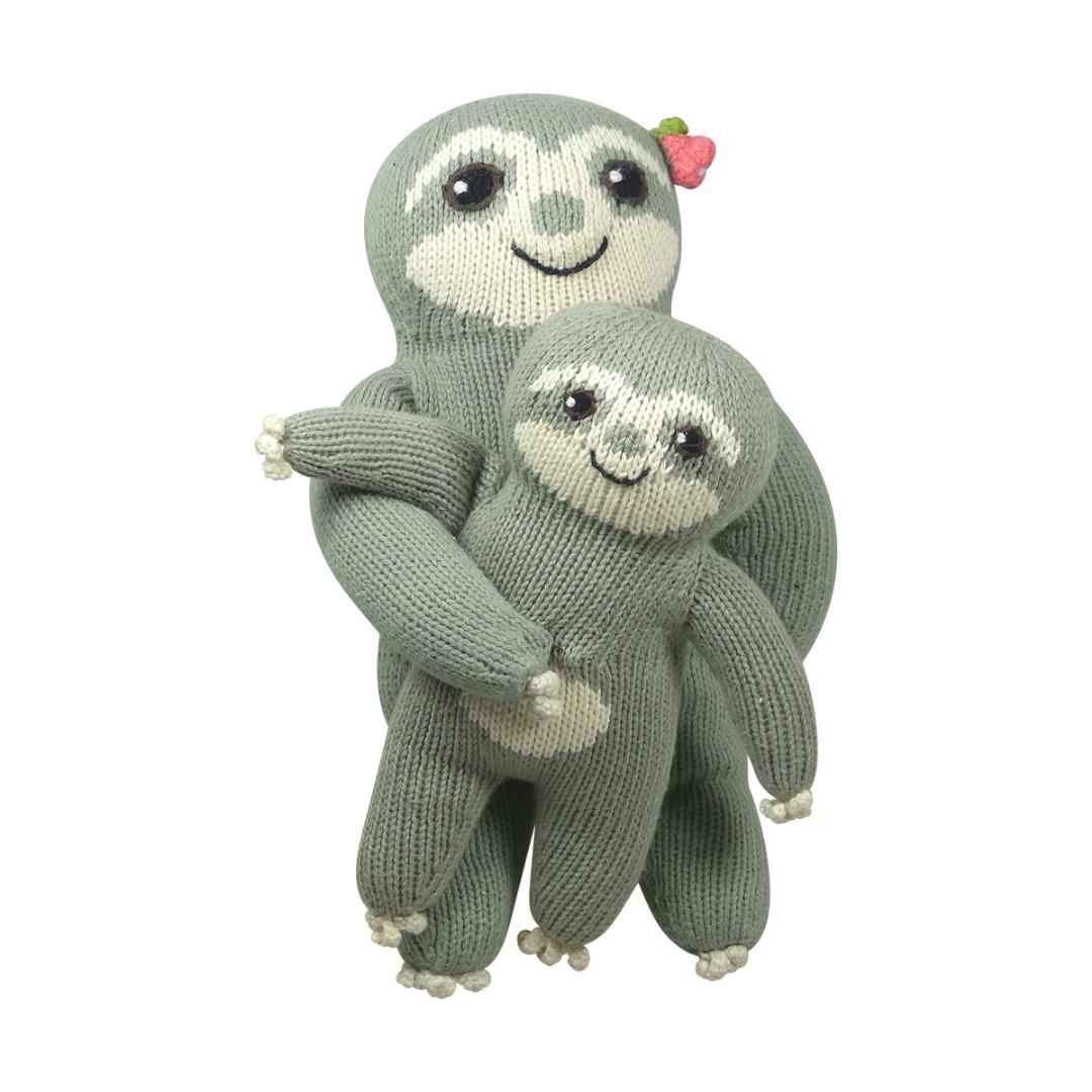 Babyparty Geschenk_Faultier Mama und Baby (2)