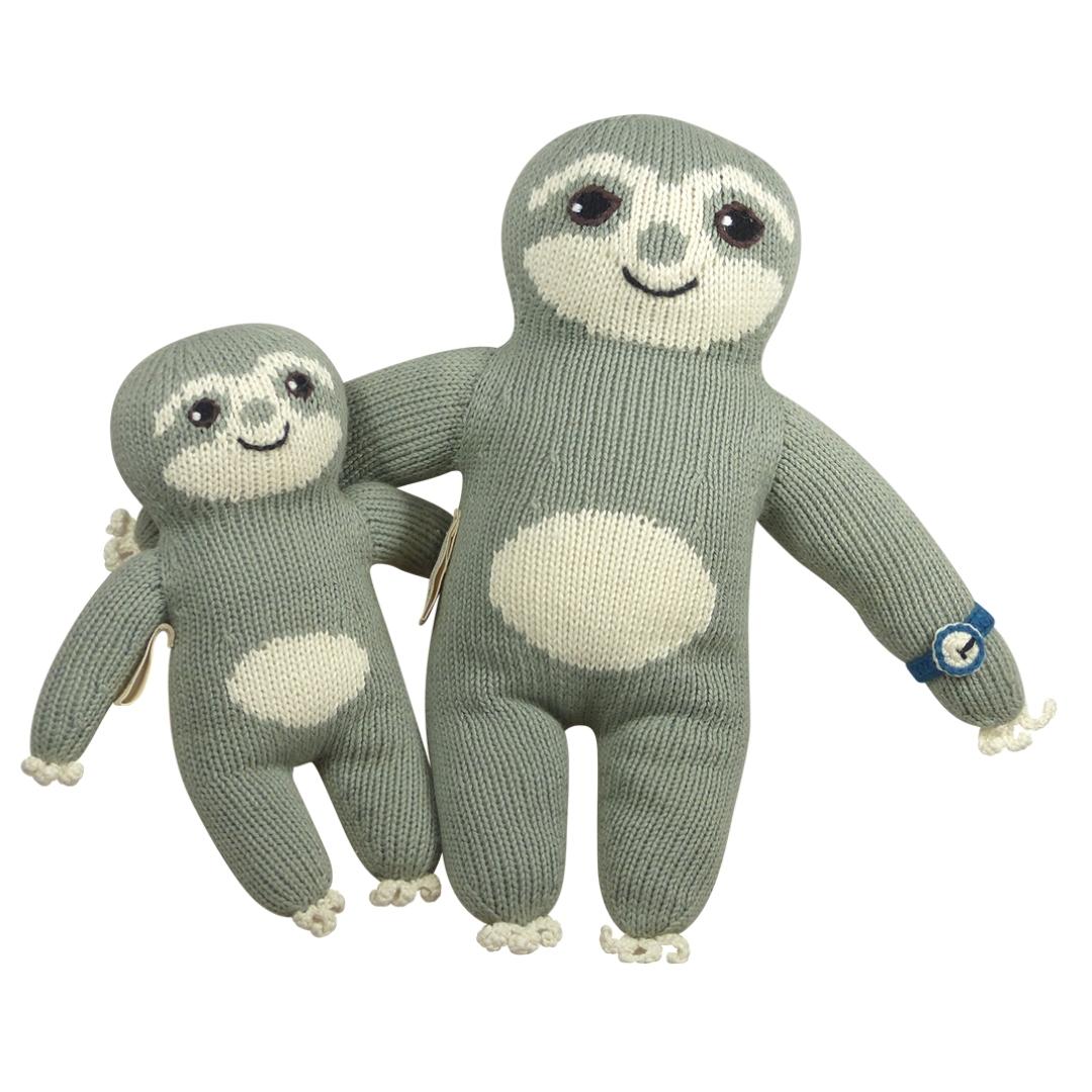 Geschenk für Papa und Baby_Faultier Kuscheltiere