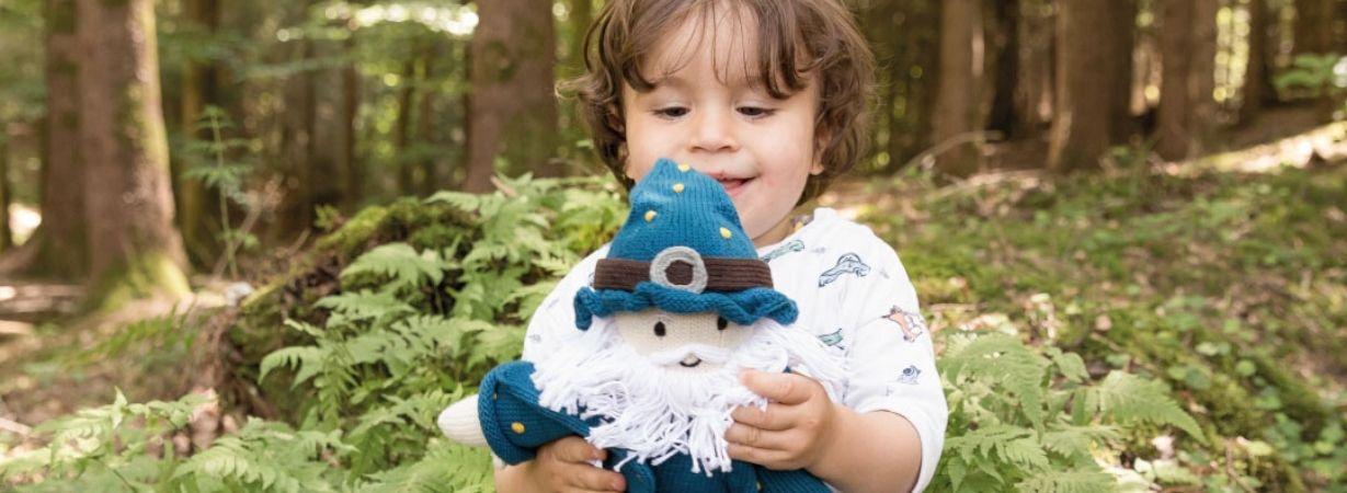 Puppe Zauberer Felix für kleine Zauberkünstler