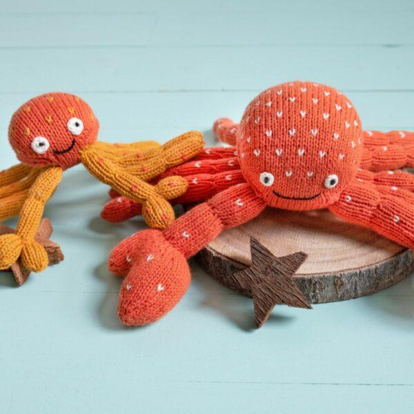 Krabben Papa Baby aus Biobaumwolle