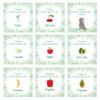Meilensteinkarten Schwangerschaft_Faultier Motive_Baby Countdown (4)
