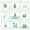 Meilensteinkarten Schwangerschaft_Faultier Motive_Baby Countdown (5)