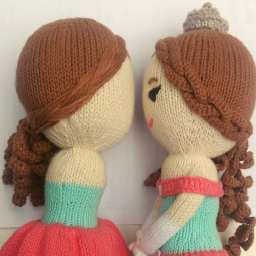 Strickpuppen aus peruanischer Puppenmanufaktur